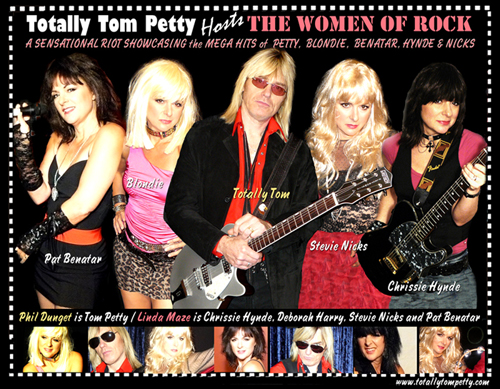 Totally Tom Petty Hosts the Women of Rock - Live Band Vancouver ...